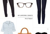 SILHOUETTES/LINES (ex) / #wardrobearchitect