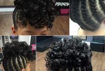 Natural hair/ protective styles