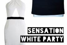 Sensation White Party 2014 / All white! Shop your sensation outfit now at monroeandme.com