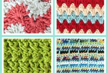 Crochet stitches