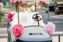 Wedding Ideas for Golf Cars