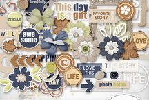 Digital Scrapbooking Kits and Collections