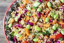 saladas vegetarianas