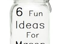mason jars and jar fun / by Becky Basham