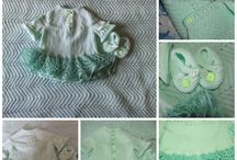 My own work / knitted and crocheted garments, blankets and throws