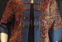 batik jas pendek