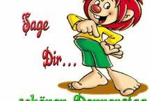 Grüße und WhatsApp