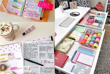 Planning / organizers, planning ideas, notebooks, calendars