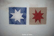 2015 QOV CO Block Drive  - Wonky Stars / Have you ever wanted to be involved in making a Quilt of Valor? Have you ever wanted to be just a small part of saying thank you to Our Service Veterans touched by War? Here is your chance!!  Join us in making these Wonky Star Blocks - more info at alyciaQuilts.blogspot.com