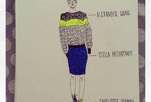 Fashion Illustration by glitchyzoe