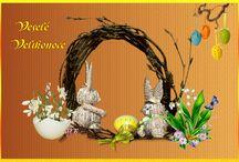 Velikonoce-vlastní výroba / obrázky