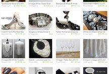 Etsy Treasuries by Brave Strides / I love to discover new and wonderful products.  These are my treasury lists.