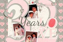 Anniversary scrapbooking / by donna irby