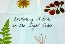 Exploring Nature / Big or Little, how will you explore your natural world today?