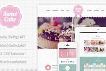 Wordpress Food Theme Templates