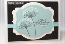 Summer Silhouettes- Stampin' Up! / Projects using the gorgeous Summer Silhouettes stamp set by Stampin' Up!