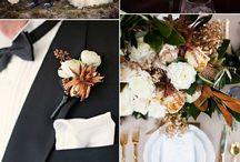 осеннняя свадьба