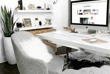 Mini Media Office Inspo