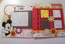 Disney paper crafts
