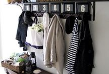 Organized Entryways / by Laura (Organizing Junkie)