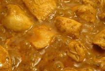 Hoofdgerecht / Afrikaanse kip curry