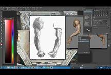 Art studio обуч курс рисование скульптура