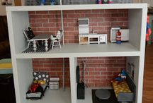 Boy doll house