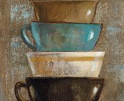 Decoupage coffees