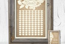 Rustic Burlap and Ivory Lace Wedding