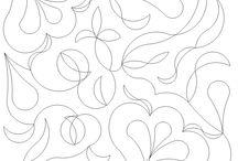 Стежки одеял Завитки, Пейсли (Quilt: curl, swirl, Paisley)