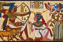 ancient egypt artwork