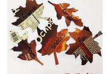 Thanksgiving Activities!  / Fun and festive Thanksgiving activity ideas!