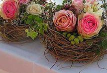 kvetinové dekoracia