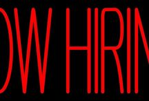 Hiring Neon Signs