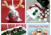 Christmas Foodie Treats / Some amazing Christmas themed ideas!