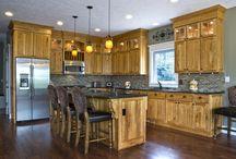 Wood in Kitchens & Baths