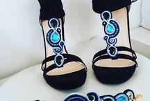 SOUTACHE cipő