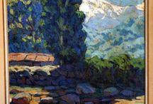 ARTE...Arturo Pacheco Altamirano / Pacheco Altamirano, Arturo (1905-1978).  Pintor chileno nacido en Chillán el 24 de abril de 1905 y muerto en Santiago el 30 de diciembre de 1978. Fue uno de los más reconocidos artistas chilenos del siglo XX,  / by Florencia Victoria