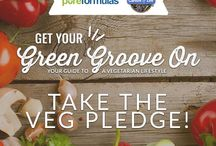 Get Your Green Groove On / Your guide to a vegetarian lifestyle / by PureFormulas.com