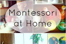 Montessori / Montessori at home for toddlers