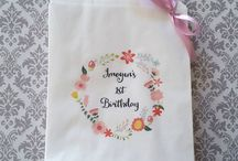 Birthday Paper Lolly Bags