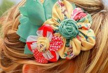 hair bows! / by Debbie Lagunas Butler