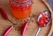 Savoury sauces