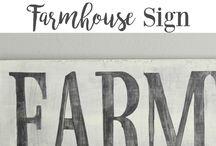 my love of farmhouse decor