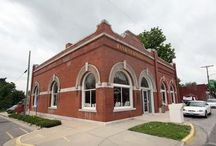 Edgerton Library / Edgerton is a gorgeous little library housed in a former bank building.