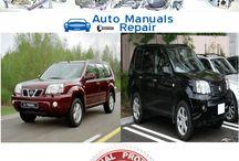 Nissan Services Repair Manuals
