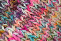 Knitting and crafting