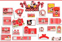 """Kit Personalizado """"Minnie Mouse"""" / Kit para personalizar Aniversário"""