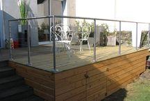 Terrasse teck