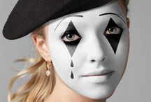 Mime Make up